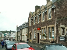 Stornoway, Post Office, Outer Hebrides © Rose and Trev Clough